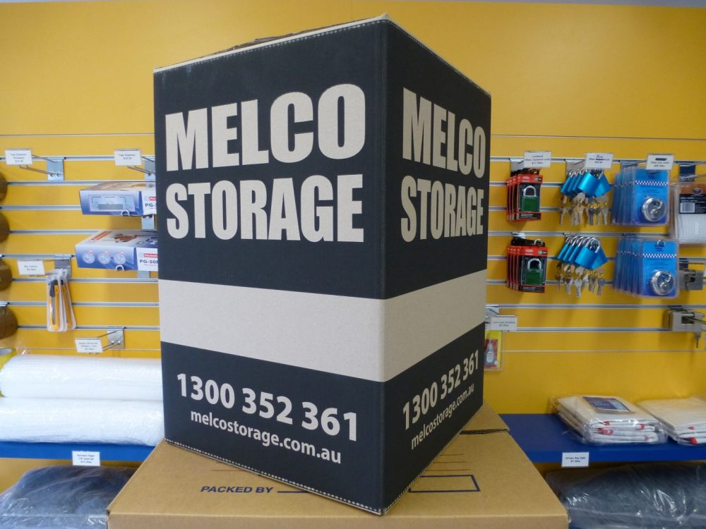 Melco Storage Tea-Chest Cartons